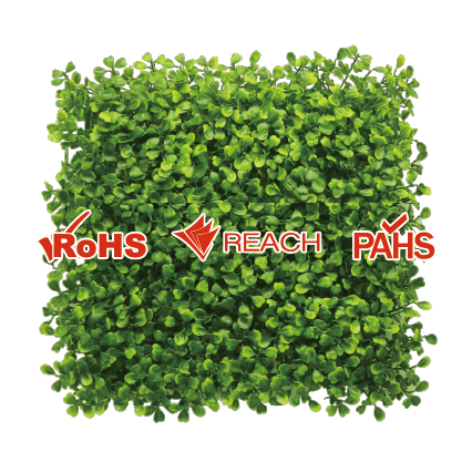 EdenVert products' certification-- RoHs, PAHs, REACH