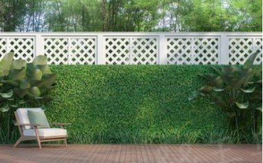 Artificial hedge mats